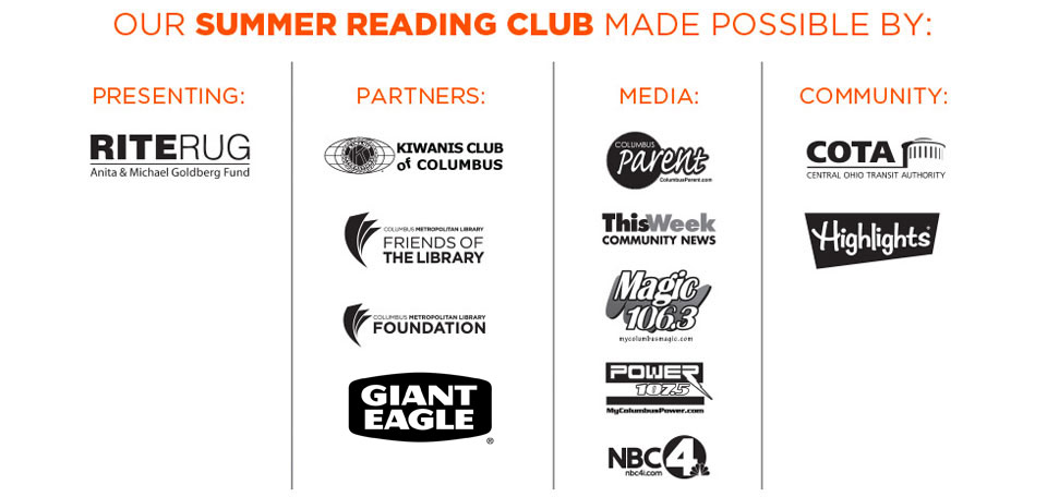 Summer Reading Club 2015 Sponsors