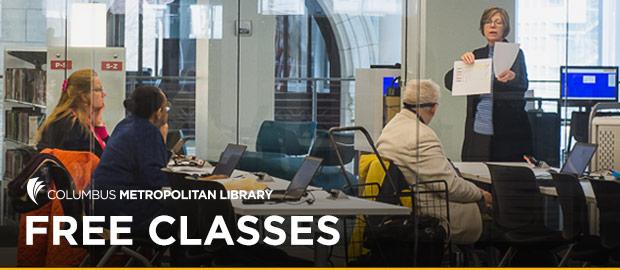 Free Classes at Columbus Metropolitan Library