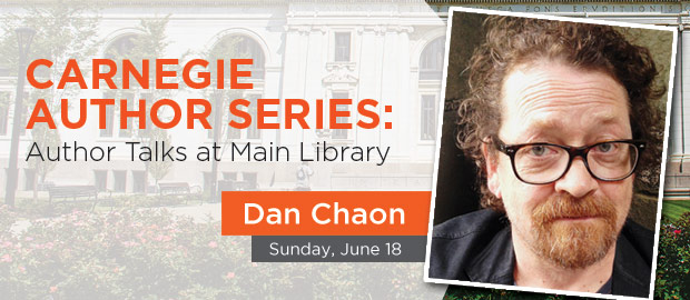Dan Chaon Author Visit to Columbus Metropolitan Library