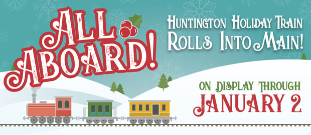 2018 Huntington Holiday Train