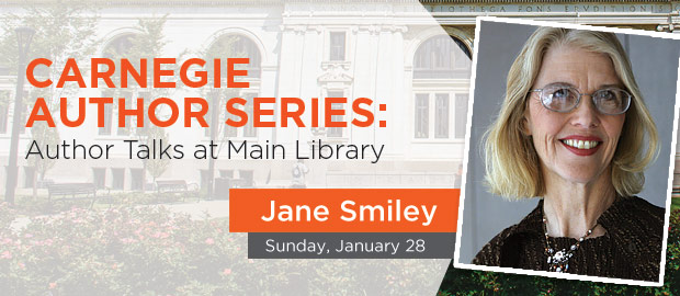 Jane Smiley Author Talk
