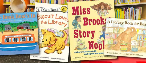 Children's Books for Library Card Sign-up Month