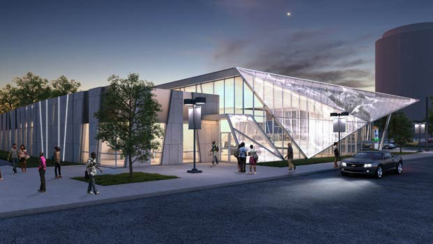New Martin Luther King Branch Rendering