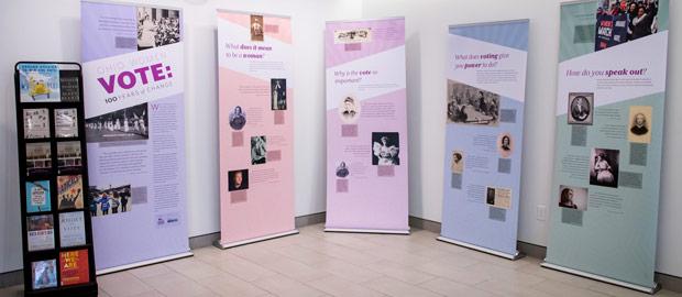 Ohio Women Vote Exhibit