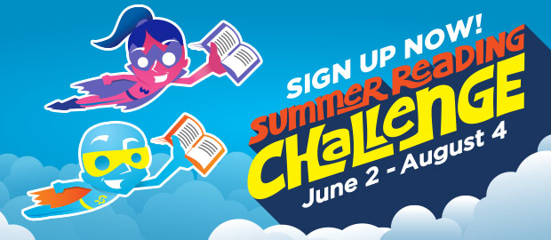 Summer Reading Challenge Sign Up Now