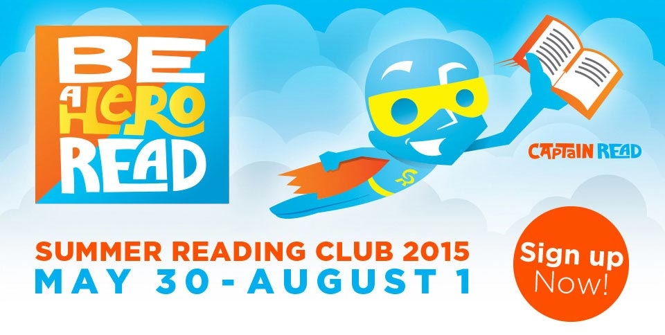 Sign Up 2015 Summer Reading Club Now