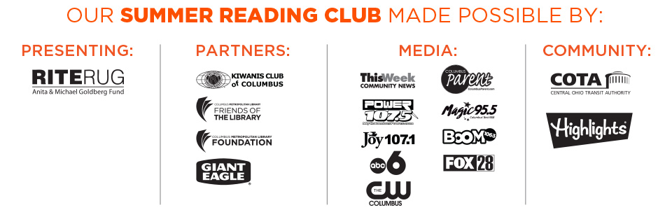 Summer Reading Club 2016 Sponsors