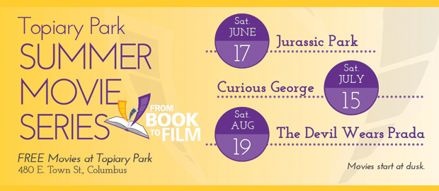 Topiary Park Summer Movies