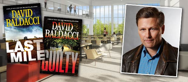 Free Author Talk with David Baldacci