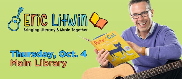 Eric Litwin at Main Library