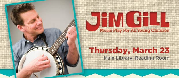 Jim Gill Concert at Columbus Metropolitan Library