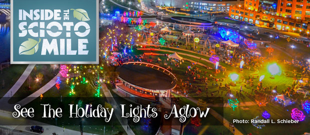 Scioto Mile Holiday Lights