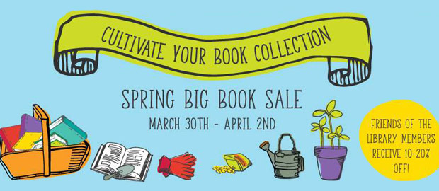 Spring 2017 Big Book Sale at Columbus Metropolitan Library