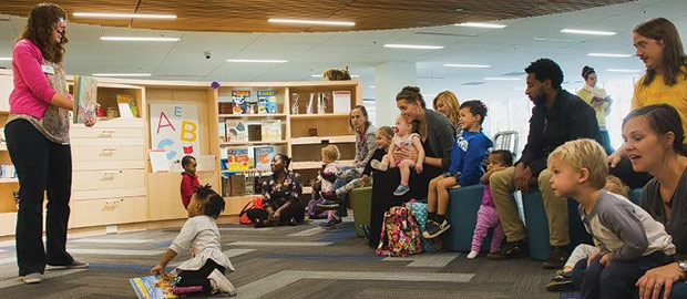 Storytime at Columbus Metropolitan Library