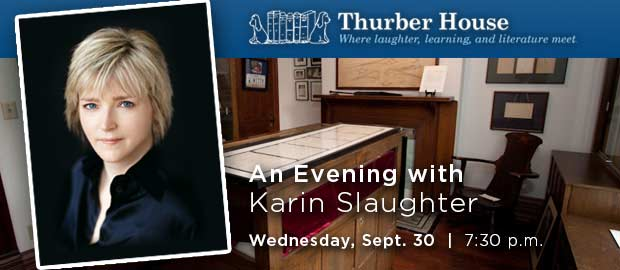 Thurber House Evening with Author Karin Slaughter