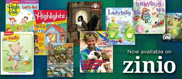 New Magazines for Zinio