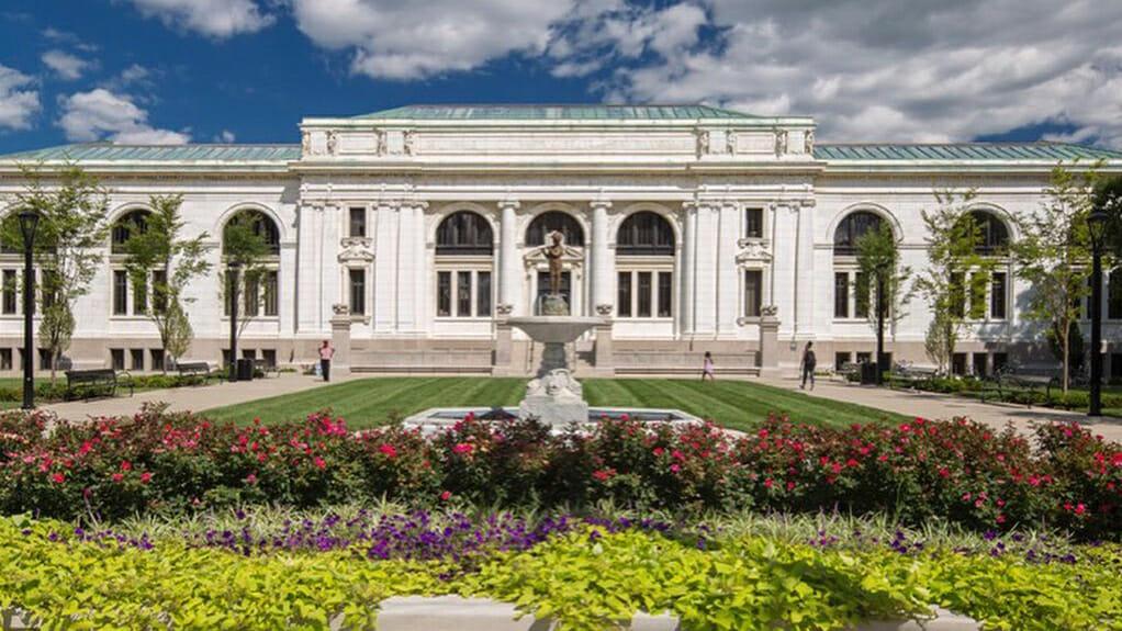 Main Library Facade
